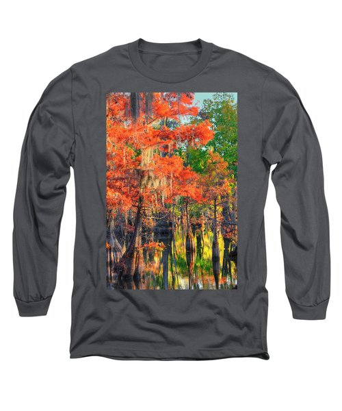 Long Sleeve T-Shirt featuring the photograph A Change Of Colors by Ester  Rogers