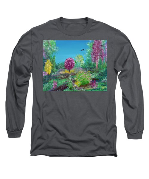 A Corner Of Heaven In Rural Indiana Long Sleeve T-Shirt