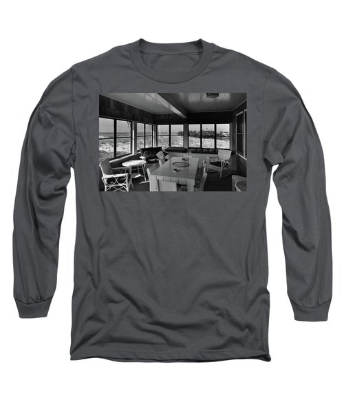 A Covered Porch With A View Long Sleeve T-Shirt