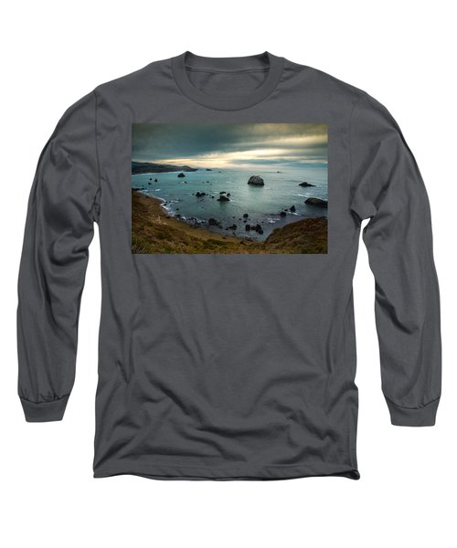 A Dark Day At Sea Long Sleeve T-Shirt