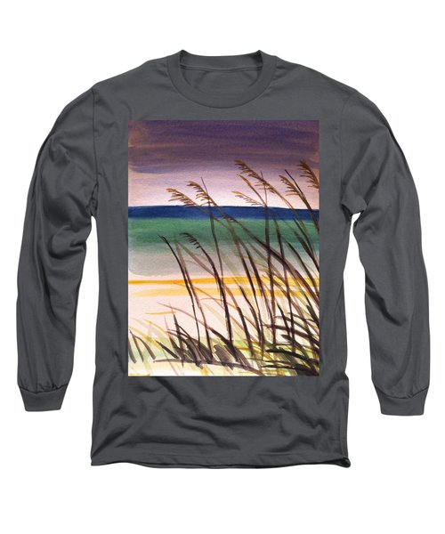 A Day At The Beach 2 Long Sleeve T-Shirt