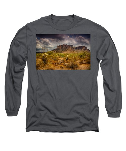A Day At The Superstitions  Long Sleeve T-Shirt