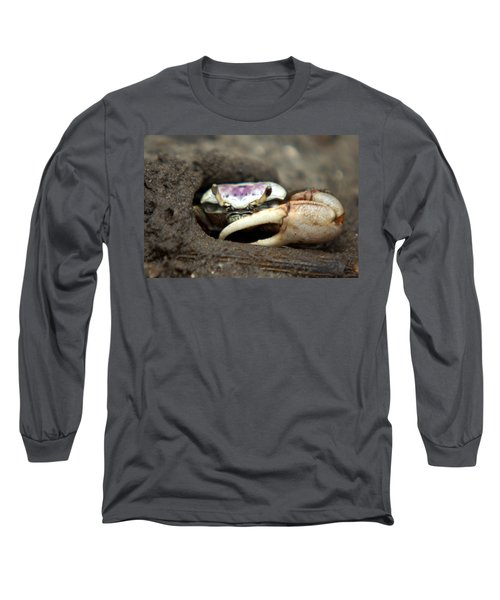 A Fiddler Crab Around Hilton Head Island Long Sleeve T-Shirt
