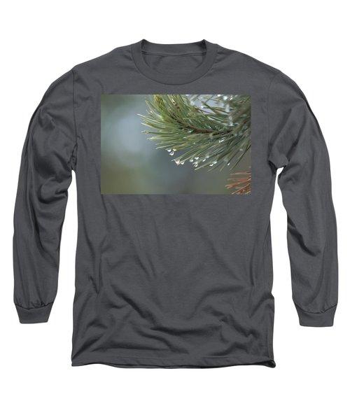 A Foggy Morning  Long Sleeve T-Shirt