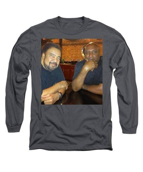 Long Sleeve T-Shirt featuring the photograph A Friend Mr. George Duke by Paul SEQUENCE Ferguson             sequence dot net