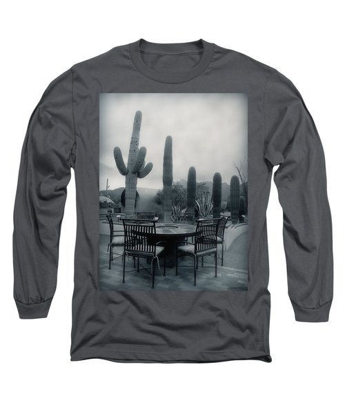 A Gentle Winter Rain Long Sleeve T-Shirt