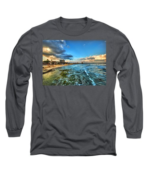a good morning from Hilton's beach Long Sleeve T-Shirt