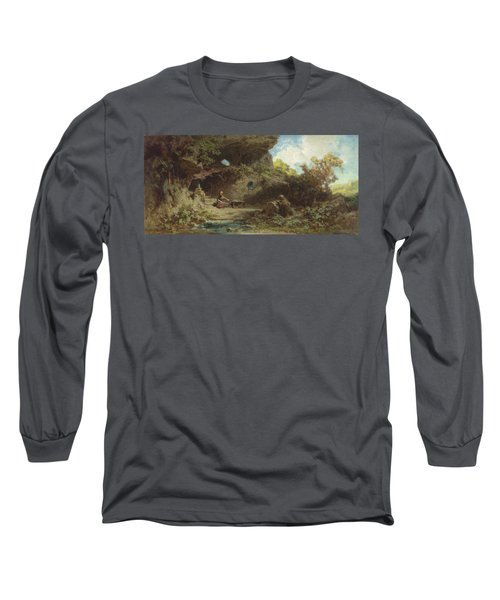 A Hermit In The Mountains Long Sleeve T-Shirt