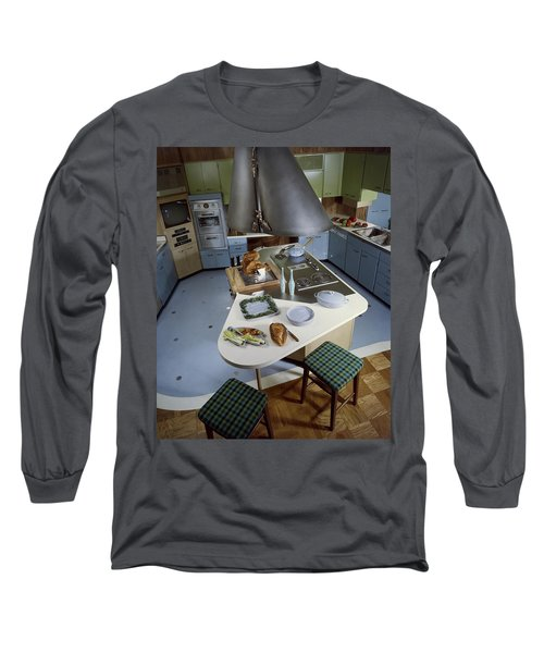 A Kitchen Designed By Ralph & Jane Bonnell Long Sleeve T-Shirt