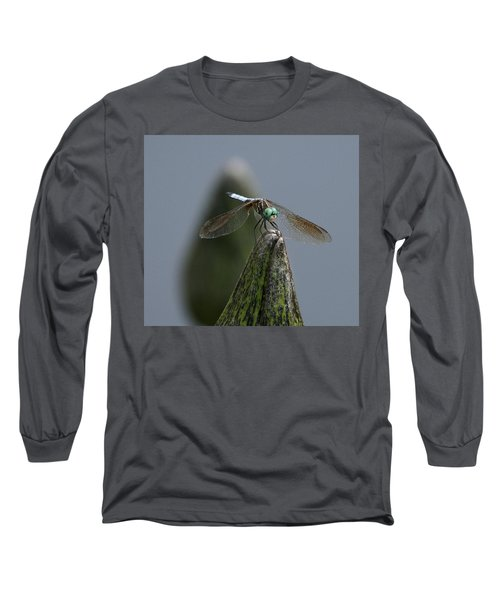 A Launch Pad Long Sleeve T-Shirt by Yvonne Wright