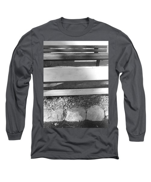 Long Sleeve T-Shirt featuring the photograph A Layered  Reconstruction by Esther Newman-Cohen
