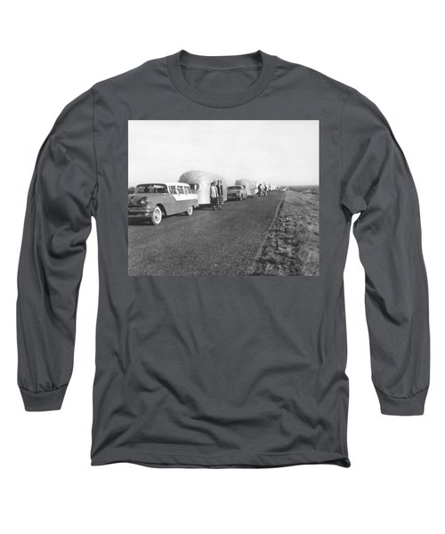 A Line Of Airstream Trailers Long Sleeve T-Shirt