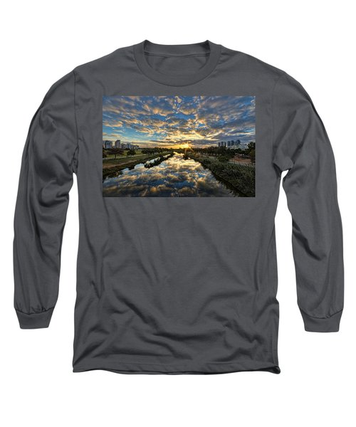 A Magical Marshmallow Sunrise  Long Sleeve T-Shirt