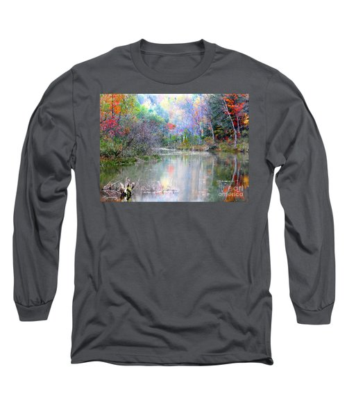 A Monet Autumn Long Sleeve T-Shirt by Mariarosa Rockefeller