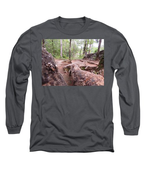 A New View From The Woods Long Sleeve T-Shirt