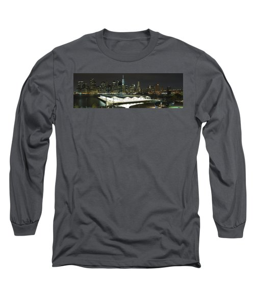 A New York City Night Long Sleeve T-Shirt