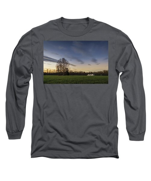 A Peaceful Sunset Long Sleeve T-Shirt