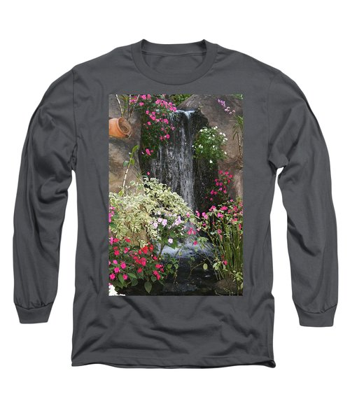 A Place Of Serenity Long Sleeve T-Shirt by Bruce Bley