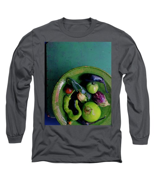 A Plate Of Vegetables Long Sleeve T-Shirt