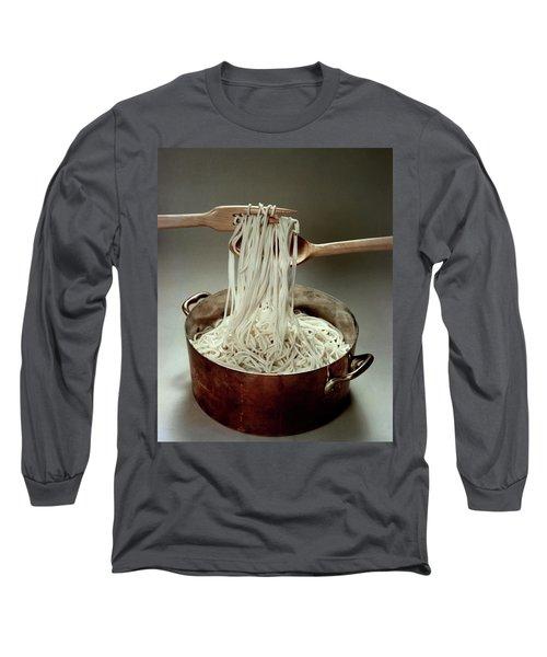 A Pot Of Spaghetti Long Sleeve T-Shirt