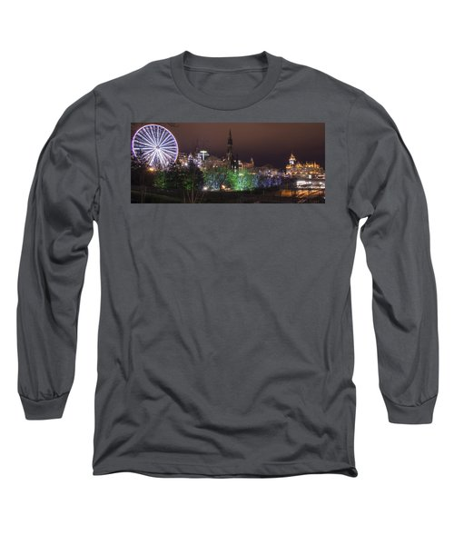 A Princes Street Gardens Christmas Long Sleeve T-Shirt
