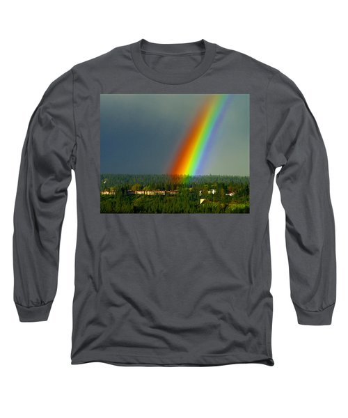 A Rainbow Blessing Spokane Long Sleeve T-Shirt