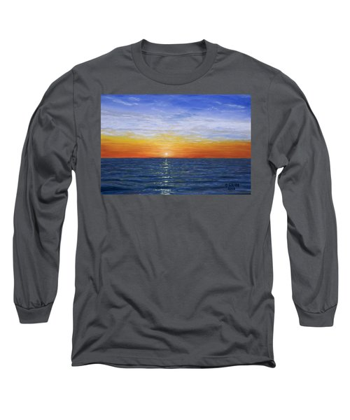 A Silent Moment Long Sleeve T-Shirt