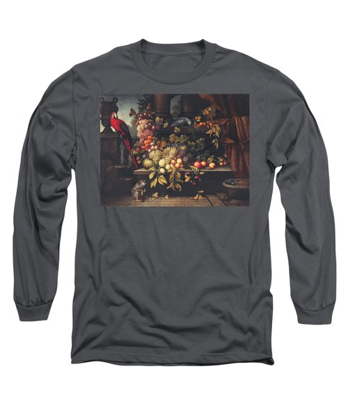 A Still Life With Fruit, Wine Cooler Long Sleeve T-Shirt