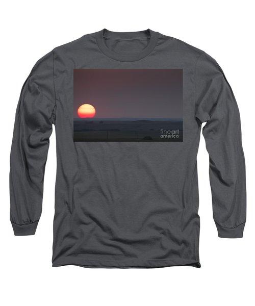 A Sun Like Mars Long Sleeve T-Shirt