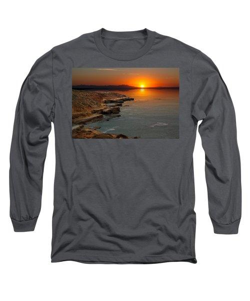 A Sunset Long Sleeve T-Shirt