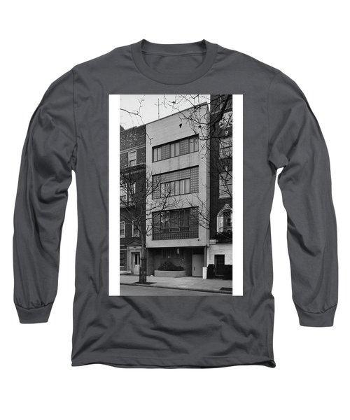 A Townhouse Designed By William Lescaze Long Sleeve T-Shirt