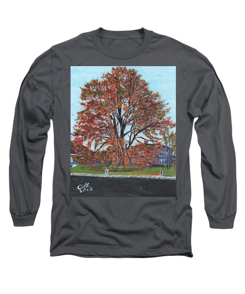 A Tree In Sherborn Long Sleeve T-Shirt