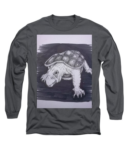 A Turtle Named Puppy Long Sleeve T-Shirt