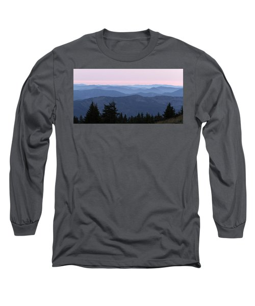 A View From Timberline Long Sleeve T-Shirt