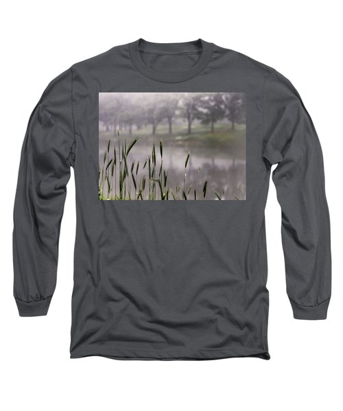 A View In The Mist Long Sleeve T-Shirt by Bruce Patrick Smith