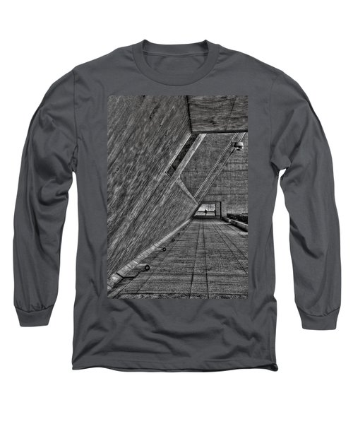 A Visitor Long Sleeve T-Shirt by Mark Alder
