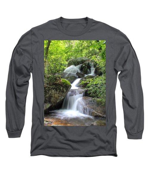 A Walk Along The Jacob Fork Long Sleeve T-Shirt