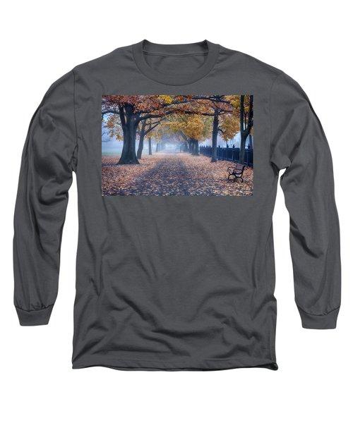 A Walk In Salem Fog Long Sleeve T-Shirt