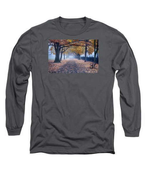A Walk In Salem Fog Long Sleeve T-Shirt