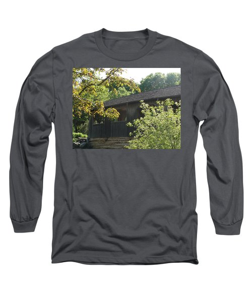 Long Sleeve T-Shirt featuring the photograph A Walk In The Park by Tiffany Erdman