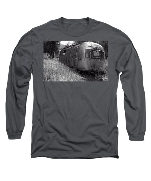 Abandoned Airstream In The Jungle Long Sleeve T-Shirt