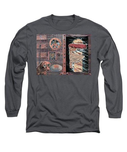 Absinthe Night In Brussels Long Sleeve T-Shirt by Joseph J Stevens