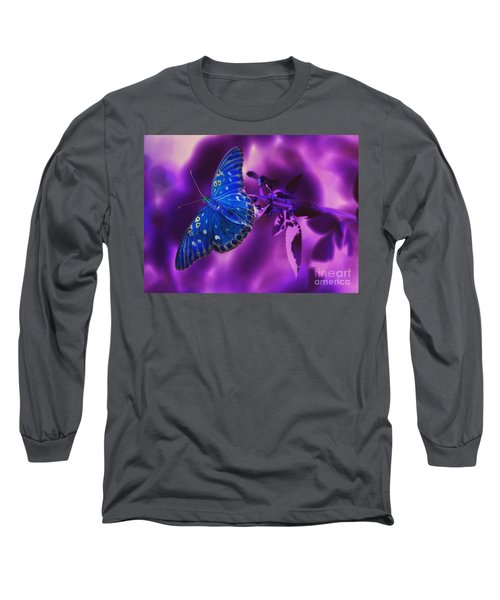 Abstract Butterfly Long Sleeve T-Shirt