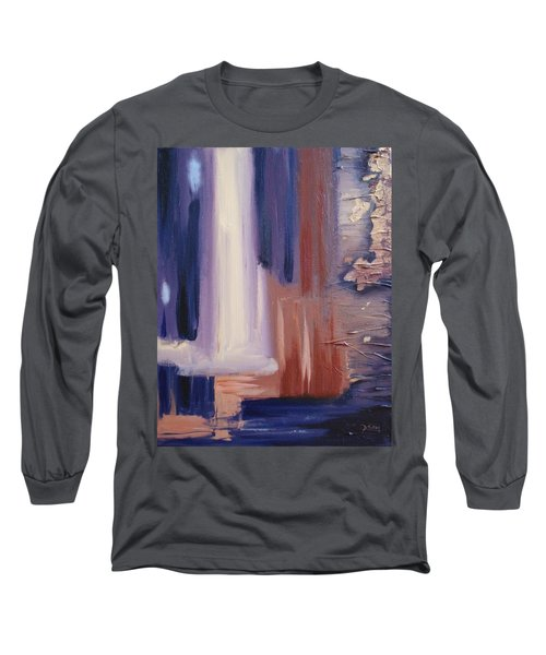 Long Sleeve T-Shirt featuring the painting Abstract I by Donna Tuten