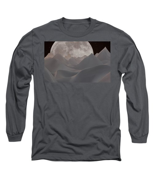 Abstract Landscape #3 Long Sleeve T-Shirt by Wally Hampton
