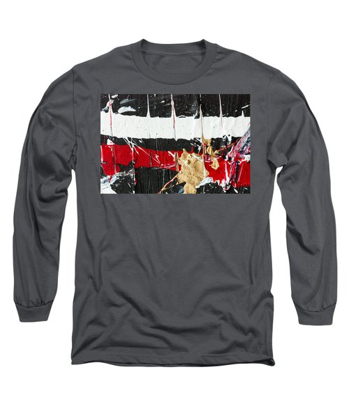 Abstract Original Painting Number Five Long Sleeve T-Shirt