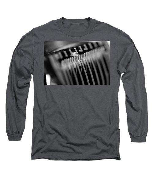 Abstract Razor Long Sleeve T-Shirt