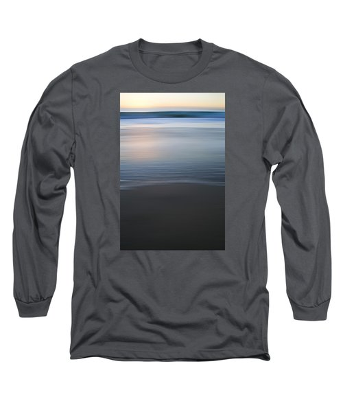 Abstract Seascape No. 06 Long Sleeve T-Shirt