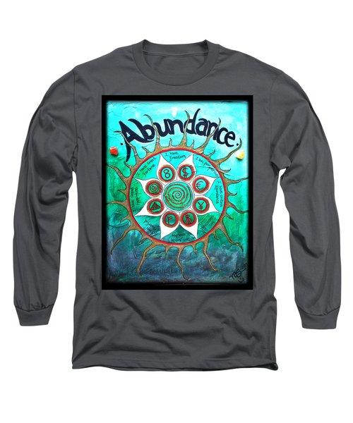 Abundance Money Magnet - Healing Art Long Sleeve T-Shirt