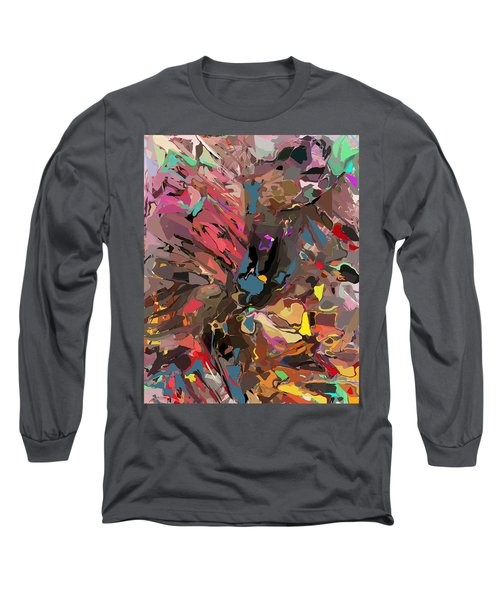 Long Sleeve T-Shirt featuring the digital art Abyss 2 by David Lane